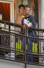 CHARLIZE THERON Leaves a Sushi Restaurant in Los Angeles 05/11/2018