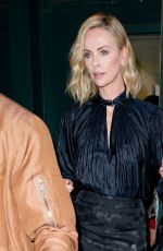 CHARLIZE THERON Out and About in New York 05/02/2018