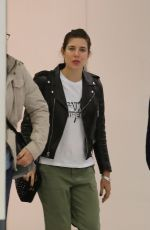 CHARLOTTE CASIRAGHI Arrives at Airport in Paris 05/18/2018
