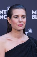 CHARLOTTE CASIRAGHI at Montblanc Dinner at Cannes Film Festival 05/16/2018