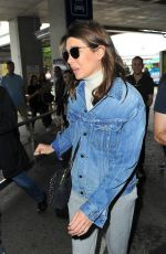 CHARLOTTE CASIRAGHI at Nice Airport 05/09/2018