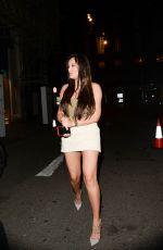 CHARLOTTE CROSBY Arrives at Libertine Club in London 05/09/2018