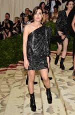 CHARLOTTE GAINSBOURG at MET Gala 2018 in New York 05/07/2018