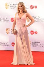 CHARLOTTE HAWKINS at Bafta TV Awards in London 05/13/2018