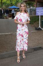 CHARLOTTE HAWKINS at Chelsea Flower Show in London 05/21/2018