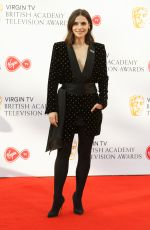CHARLOTTE RILEY at Bafta TV Awards in London 05/13/2018
