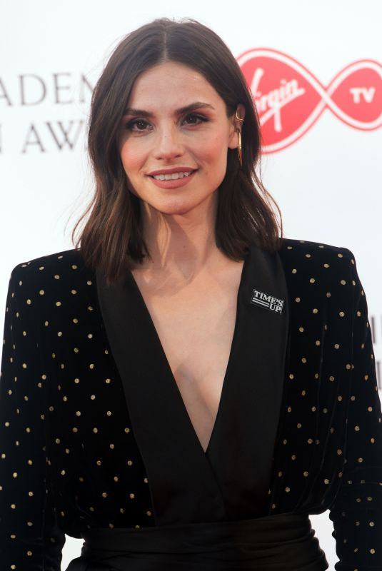 CHARLOTTE RILEY at Bafta TV Awards in London 05/13/2018