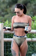CHATELLE CONNELLY in Bikini on Holiday in Marbella 05/15/2018