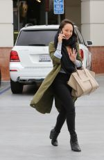 CHERYL BURKE Out for Coffee in Los Angeles 05/11/2018
