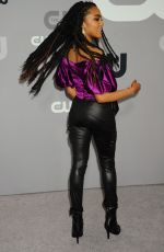CHINA ANNE MCCLAIN at CW Network Upfront Presentation in New York 05/17/2018