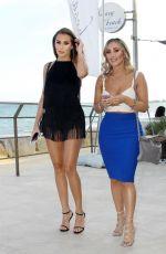 CHLOE and LAURYN GOODMAN at Besaya Beach Restaurant in Marbella 05/25/2018