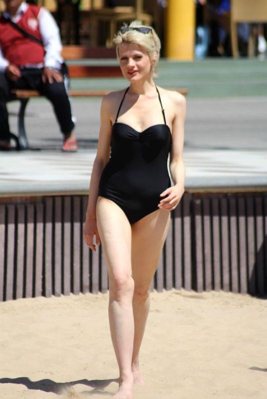CHLOE JASMINE in Swimsuit at a Beach in Cape Verde 04/29/2018