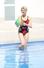 CHLOE JASMINE in Swimsuit at a Pool in Cape Verde 04/05/2018