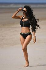 CHLOE KHAN in Bikini at a Beach in Dubai 05/11/2018