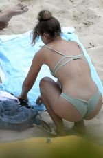 CHLOE LEWIS in Bikini on the Beach in Majorca 05/21/2018