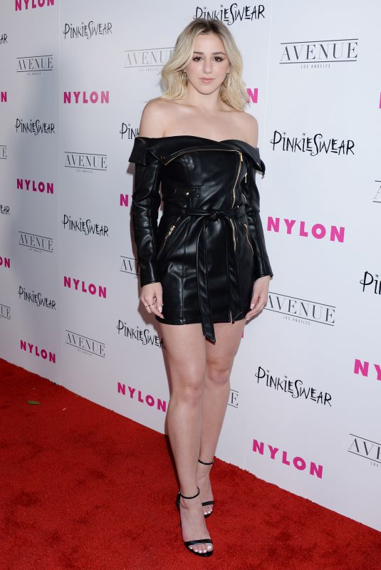 CHLOE LUKASIAK at Nylon Young Hollywood Party in Hollywood 05/22/2018