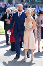 CHLOE MADELEY at Royal Wedding Ceremony in Windsor 05/19/2018