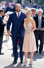 CHLOE MADELEY at Royal Wedding Ceremony in Windsor 05/19/2018