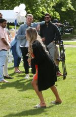 CHLOE MEADOWS on the Set of The Only Way is Essex at Colchester Castle 05/10/2018