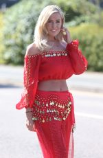 CHLOE MEADOWS on the Set of TOWIE in Brentwood 05/03/2018