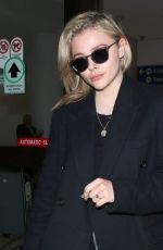 CHLOE MORETZ at Los Angeles International Airport 05/01/2018