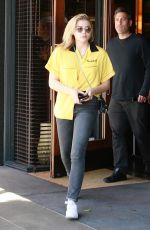 CHLOE MORETZ Out for Lunch in Beverly Hills 05/04/2018