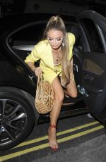 CHLOE SIMS at Quiz x Towie Launch Party in London 05/10/2018