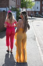 CHLOE SIMS on the Set of TOWIE in Brentwood 05/03/2018