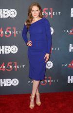 CHRISTIANE SEIDEL at Fahrenheit 451 Premiere in New York 05/08/2018
