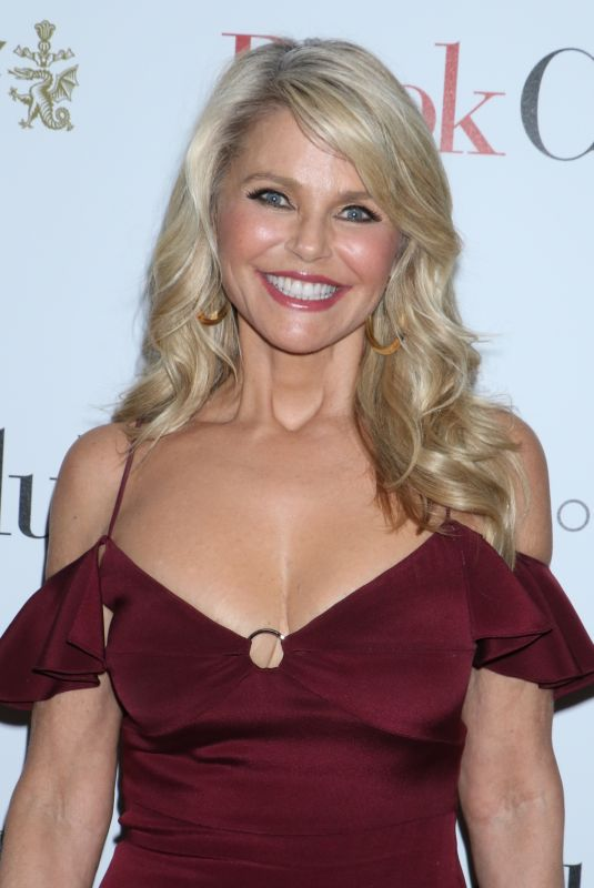 CHRISTIE BRINKLEY at Book Club Screening in New York 05/15/2018