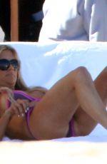 CHRISTINA EL MOUSSA in Bikini at a Pool in Los Cabos 05/10/2018