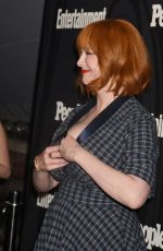 CHRISTINA HENDRICKS at EW & People New York Upfronts Celebration 05/14/2018