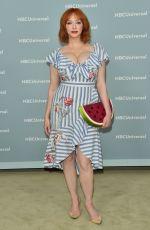 CHRISTINA HENDRICKS at NBCUniversal Upfront Presentation in New York 05/14/2018