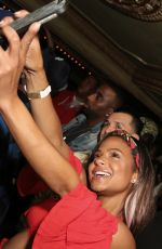 CHRISTINA MILIAN at Karrueche Tran