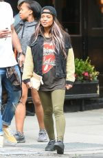 CHRISTINA MILIAN Out in New York 05/18/2018