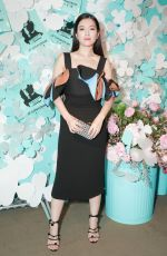 CHRISTINE KUO at Tiffany & Co. Jewelry Collection Launch in New York 05/03/2018