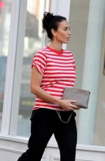 CHRISTINE LAMPARD Out and About in Chelsea 05/08/2018