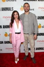 CHRYSTI ANE at American Animals Premiere in New York