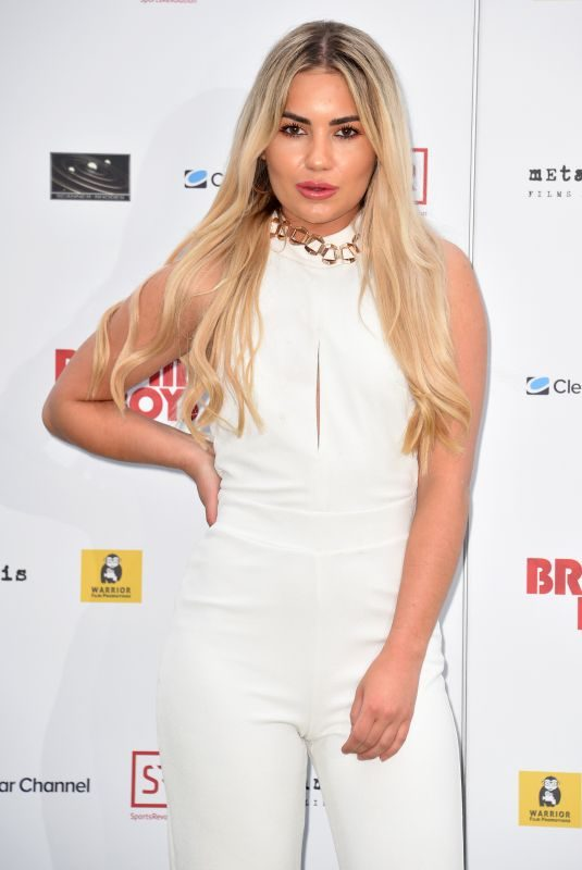 CHYNA ELLIS at Bromley Boys Premiere in London 05/24/2018