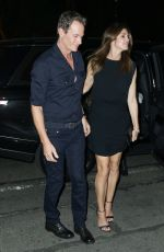 CINDY CRAWFORD and Rande Gerber Out for Dinner in New York 05/05/2018