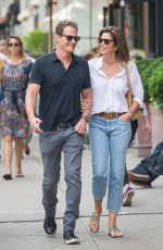 CINDY CRAWFORD and Rande Gerber Out in New York 05/05/2018