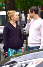 CLAIRE DANES and Hugh Dancy Out in New York 05/16/2018