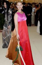 CLAIRE DANES at MET Gala 2018 in New York 05/07/2018