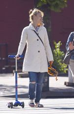 CLAIRE DANES Out and About in New York 05/11/2018