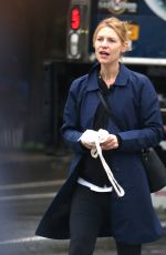 CLAIRE DANES Out in New York 05/17/2018