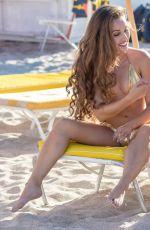 CLAUDIA ROMANI and MELISSA LORI in Bikinis at a Beach in Miami 05/13/2018