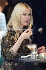 CLAUDIA SCHIFFER Out and About in London 05/04/2018