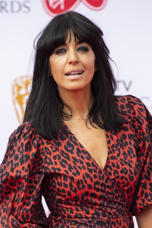 CLAUDIA WINKLEMAN at Bafta TV Awards in London 05/13/2018