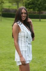 CLELIA THEODOROU on the Set of The Only Way is Essex at Colchester Castle 05/10/2018
