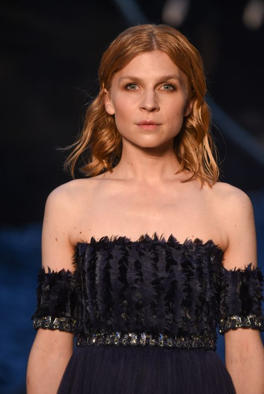CLEMENCE POESY at Chanel Cruise 2018/2019 Collection Launch in Paris 05/03/2018